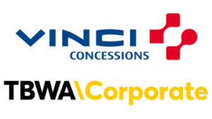 Logo Vinci et TBWA\Corporate