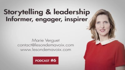 Podcast6 - Storytelling & leadership